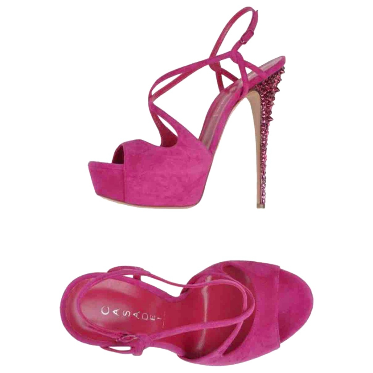 Casadei \N Leather Sandals for Women 37 EU