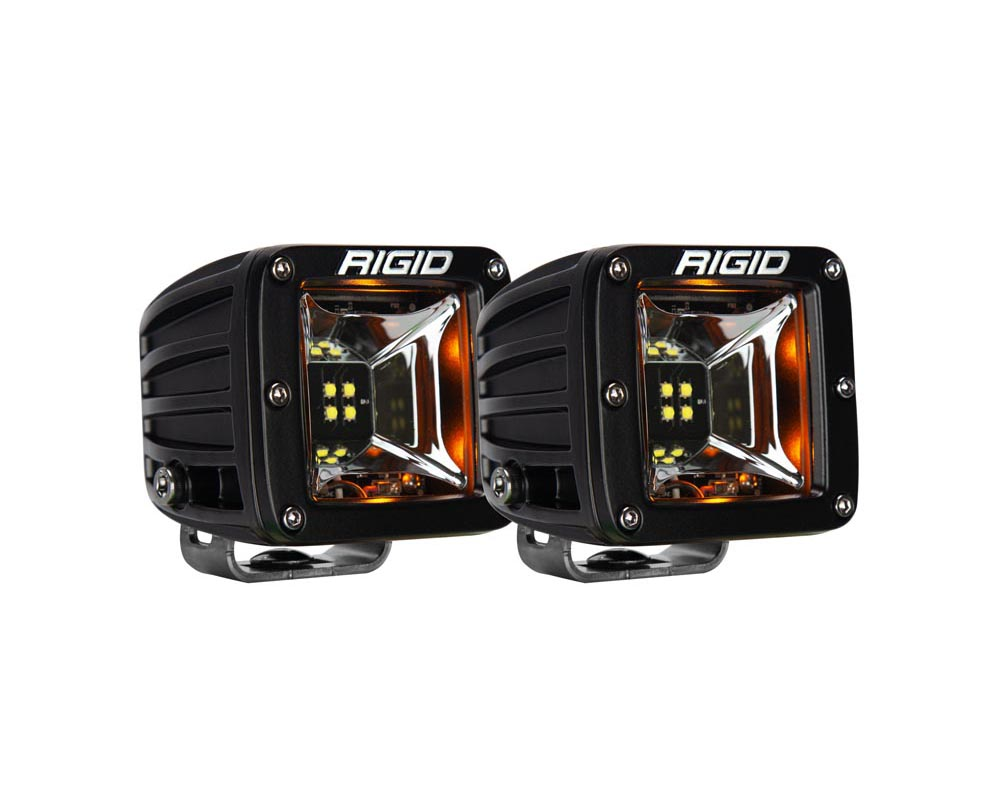 RIGID Industries Scene Amber Backlight Surface Mount Pair Radiance