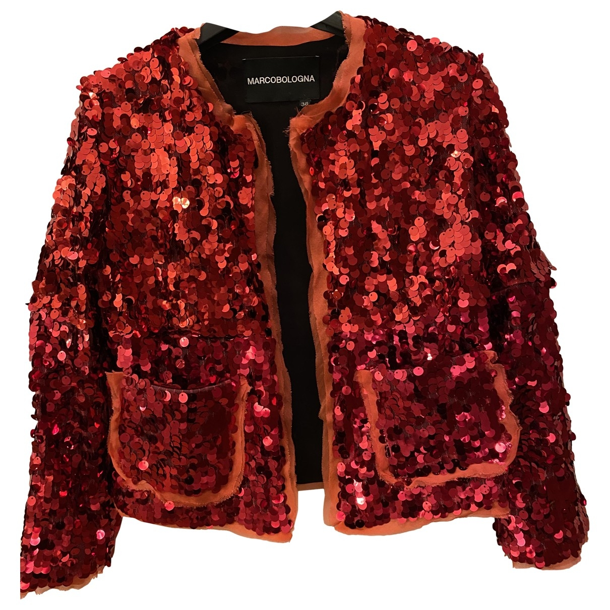 Marco Bologna \N Red jacket for Women 38 IT