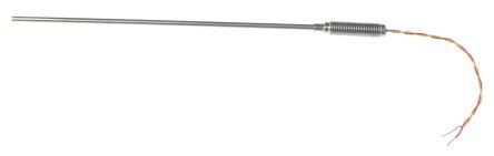 RS PRO Type K Thermocouple 150mm Length, 1mm Diameter → +1100°C