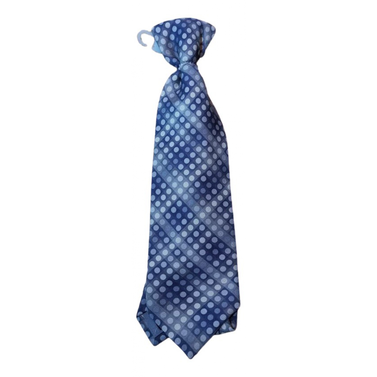 Issey Miyake \N Krawatten in  Blau Seide