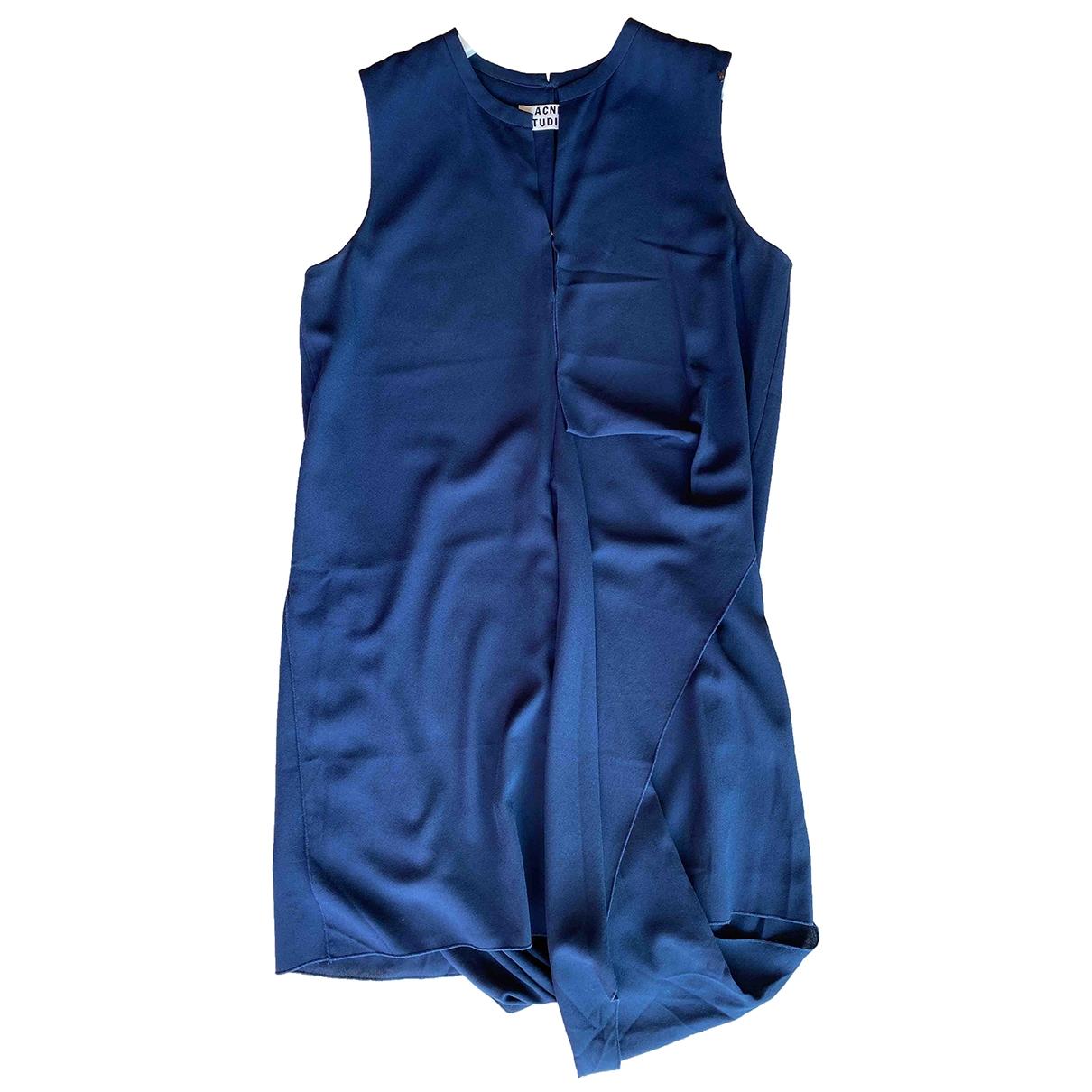 Acne Studios \N Navy dress for Women 40 FR