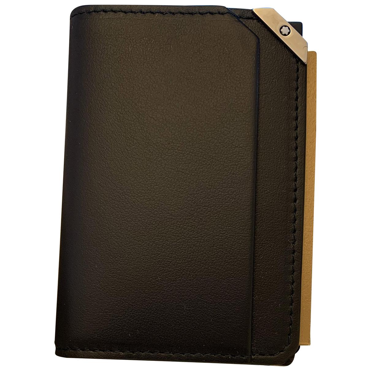 Montblanc N Black Leather Small bag, wallet & cases for Men N