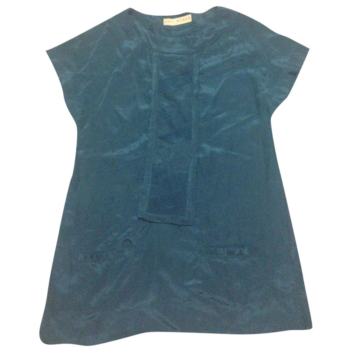 Gat Rimon \N Blue Silk dress for Women 1 0-5
