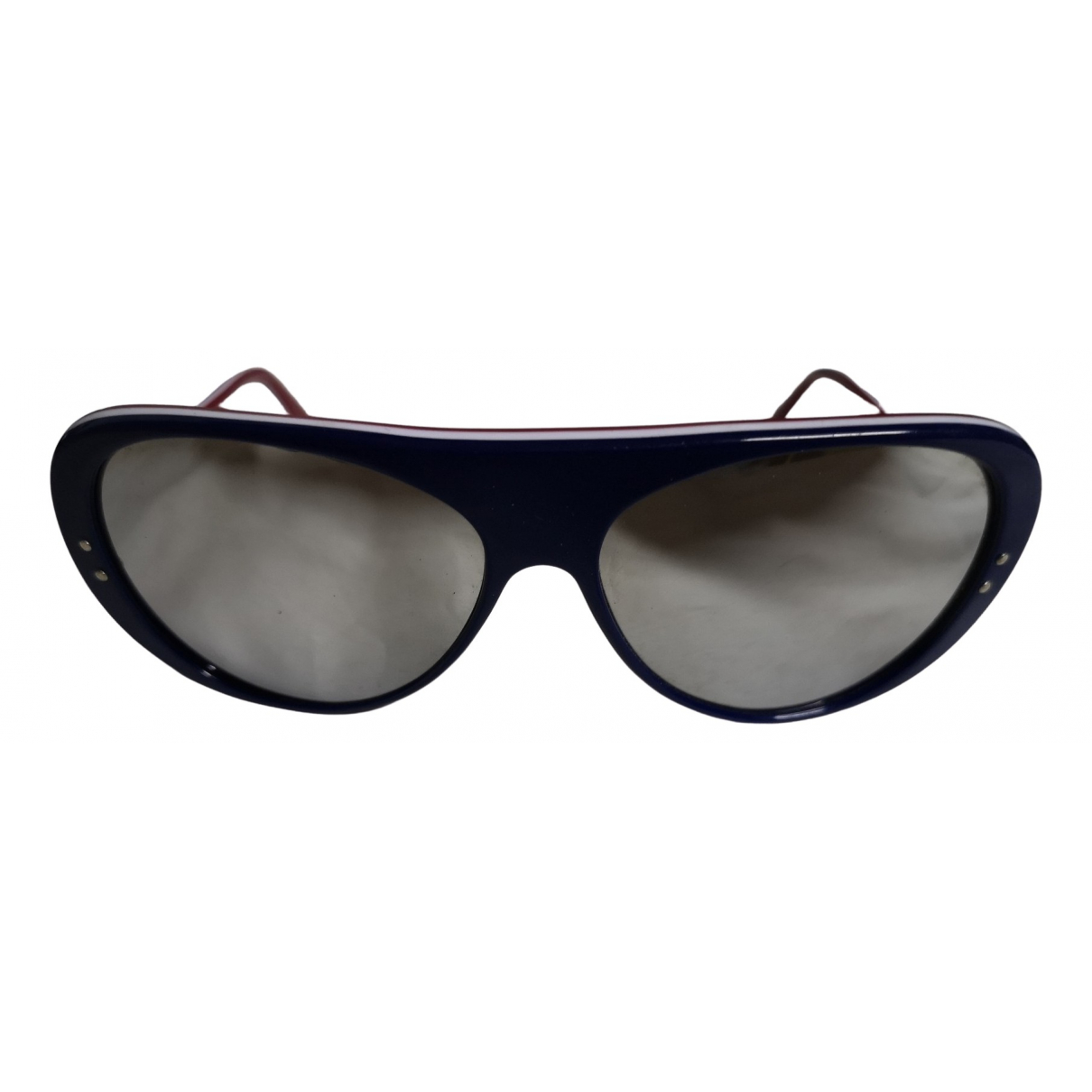 Non Signé / Unsigned N Blue Sunglasses for Men N