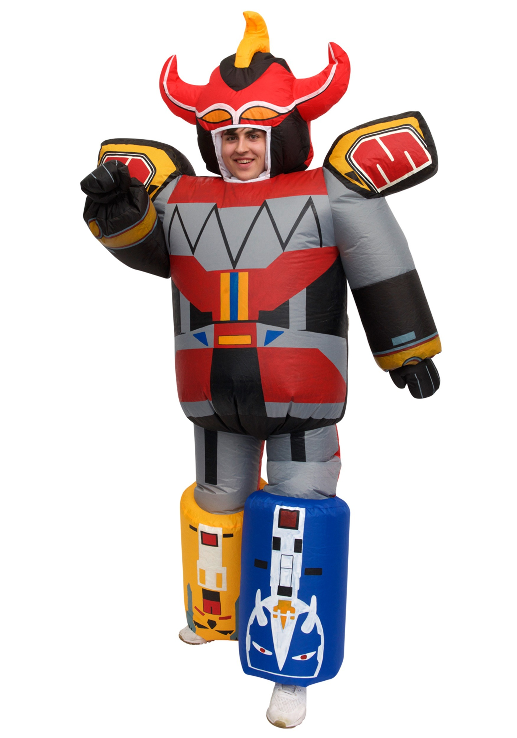 Inflatable Power Rangers Megazord Costume for Adults