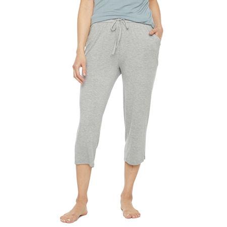 Ambrielle Womens Pajama Pants, Large , Gray