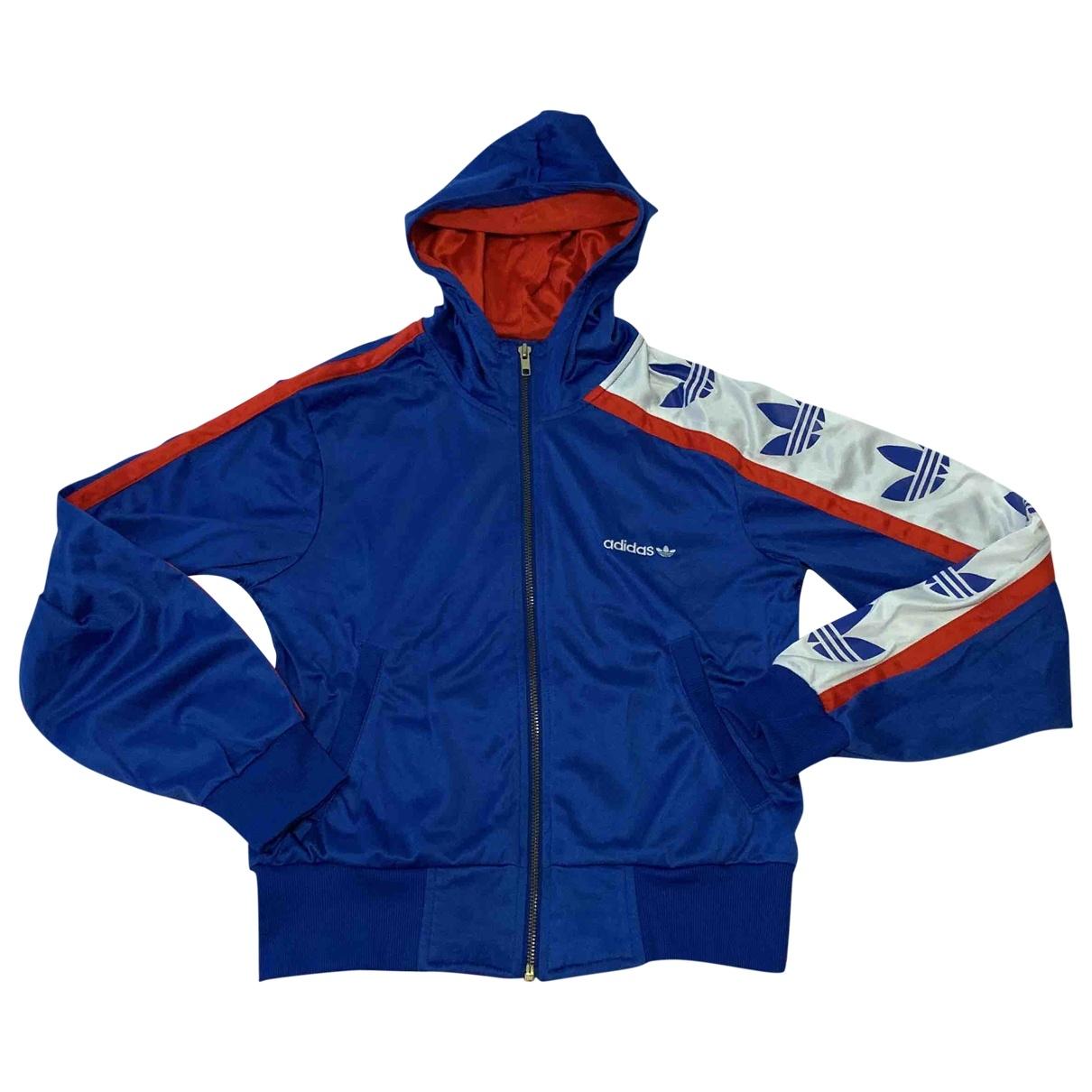 Adidas - Pull   pour femme - bleu