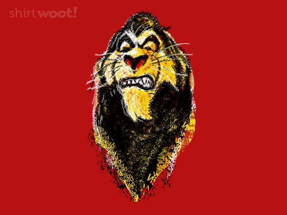 Wild Scar T Shirt