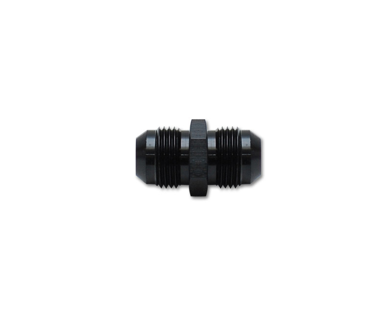 Vibrant Performance 10236 Anodized Black -16AN Male to -16AN Male Union Adapter Fitting