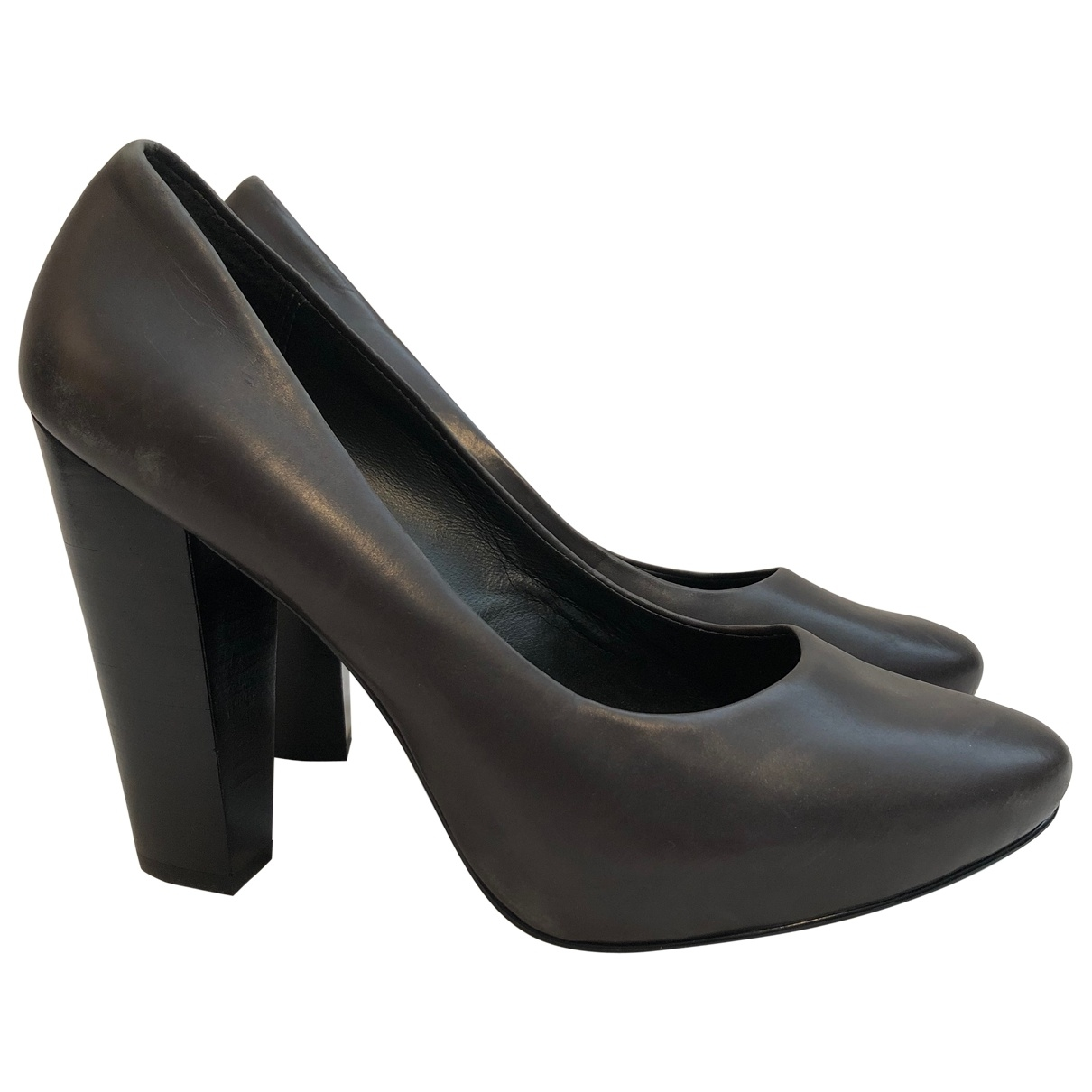 Ash \N Pumps in  Anthrazit Leder