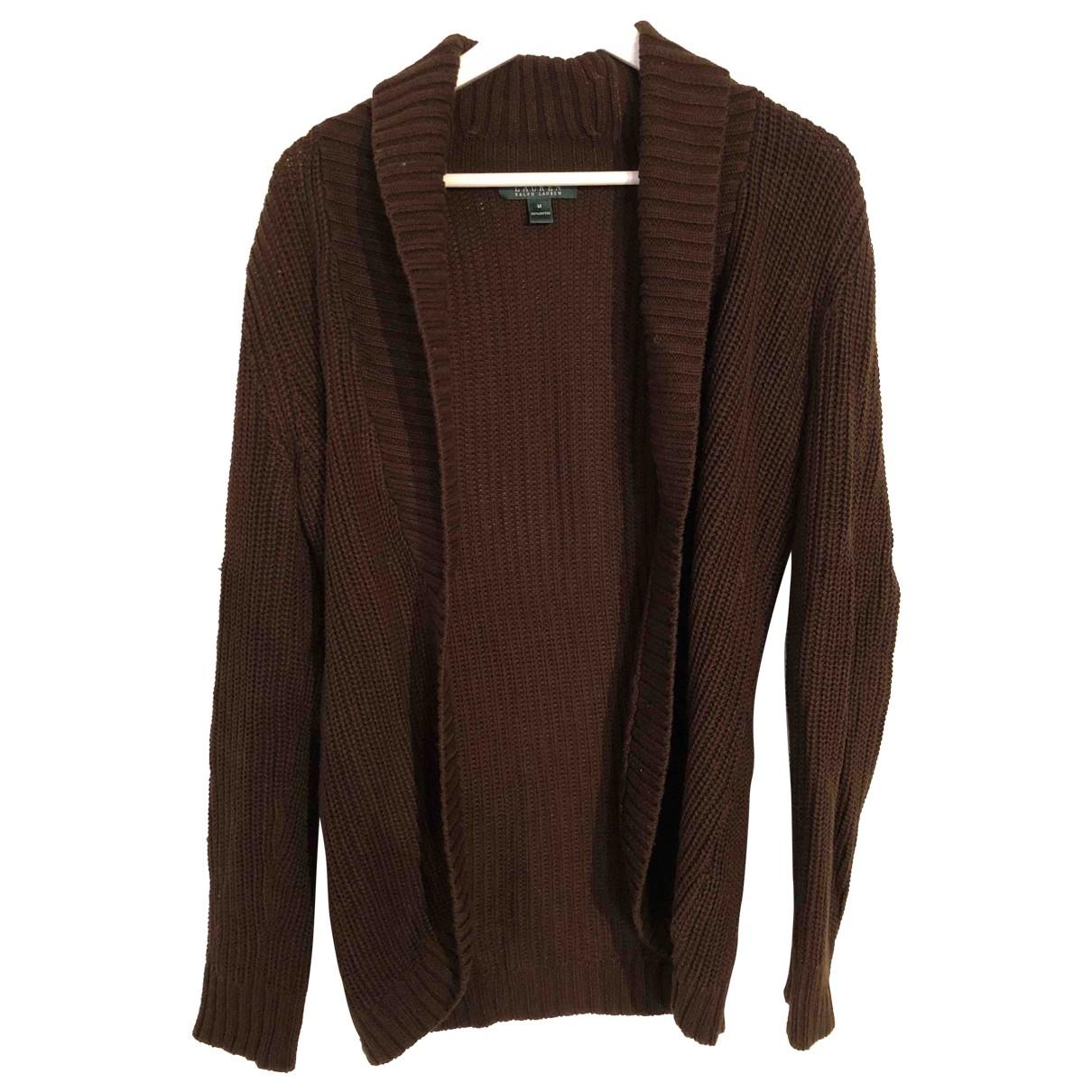 Lauren Ralph Lauren \N Brown Cotton Knitwear for Women M International