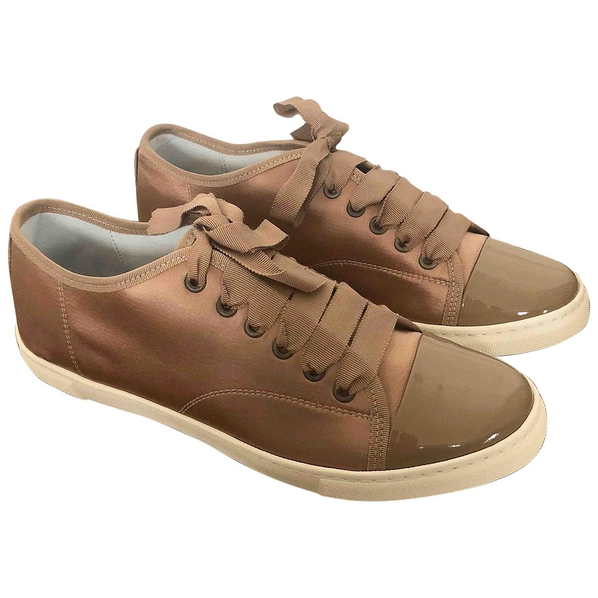 Lanvin \N Sneakers in  Rosa Leinen