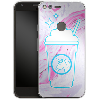 Google Pixel Silikon Handyhuelle - Unicorn Frappuccino von caseable Designs