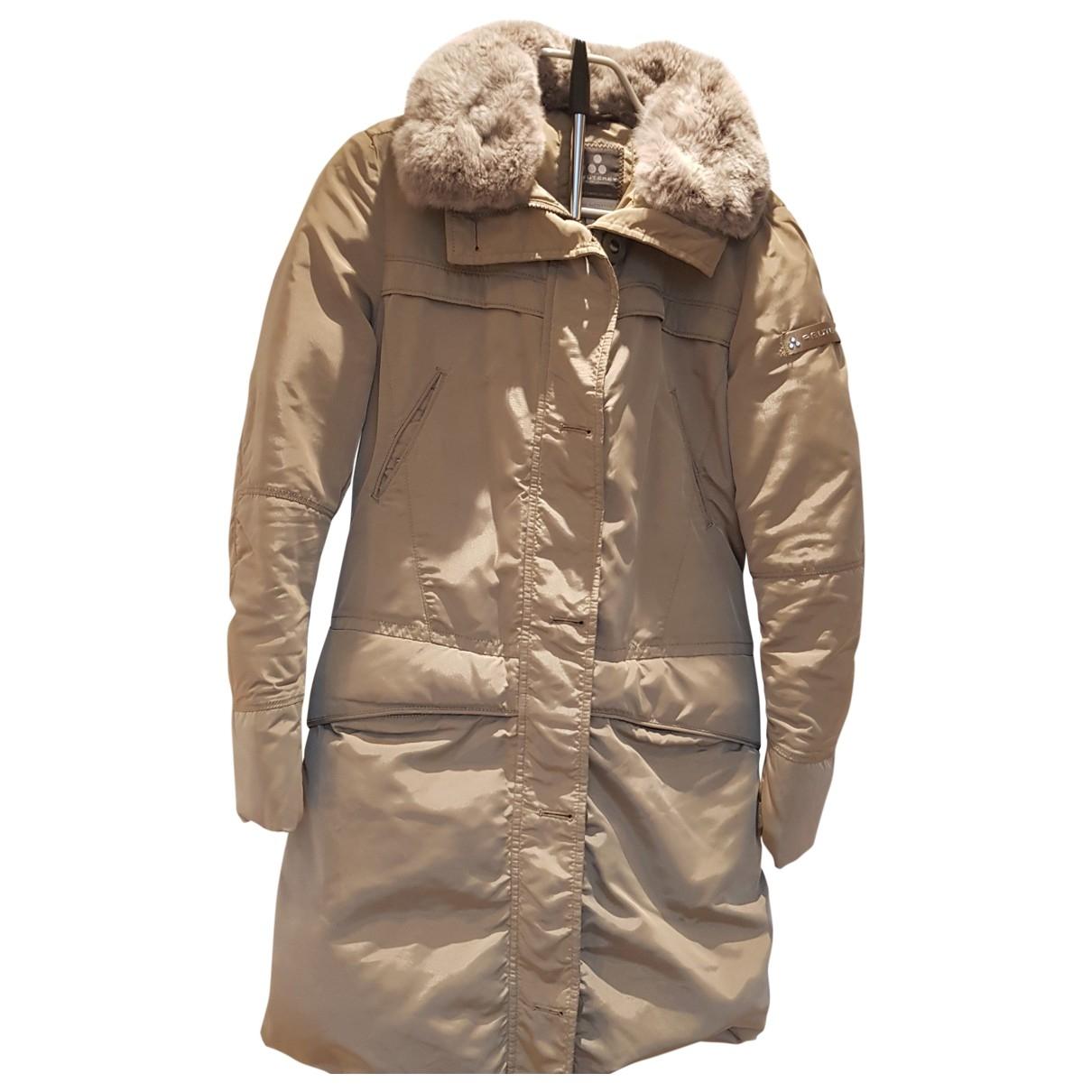 Peuterey - Manteau   pour femme - beige
