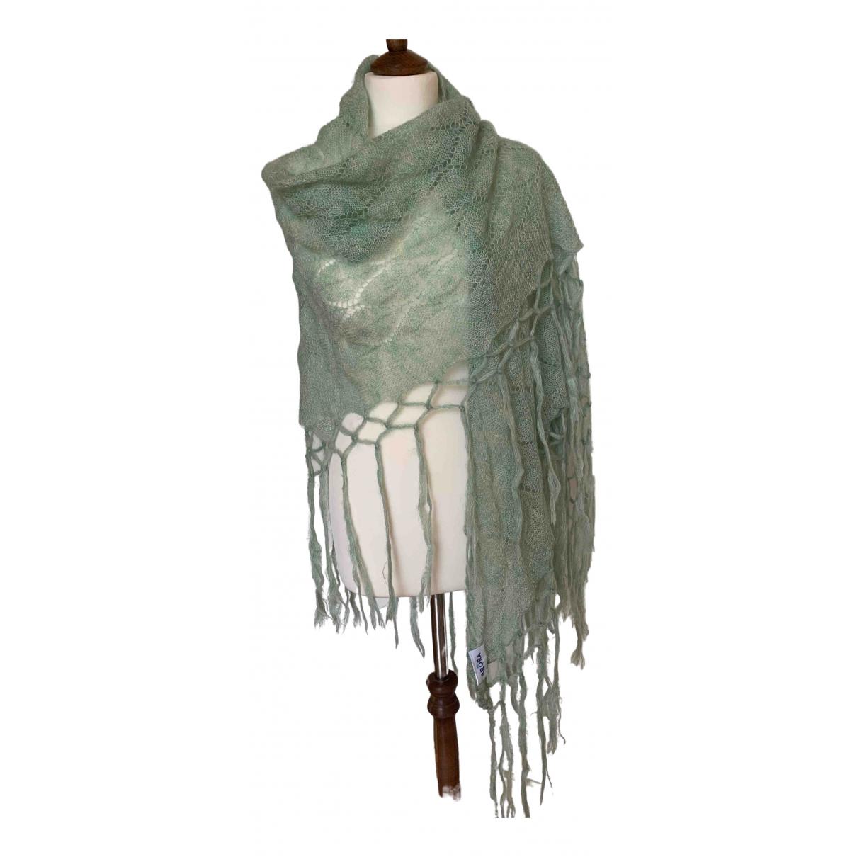 Brora - Foulard   pour femme en cachemire - vert