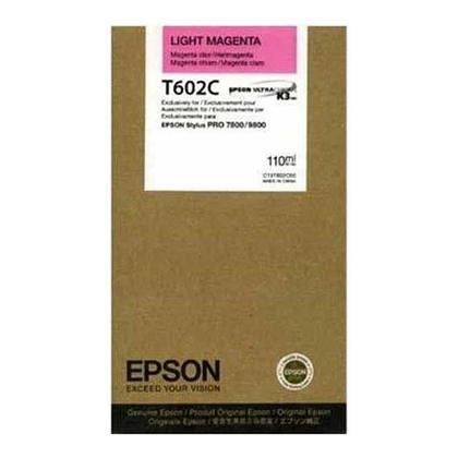 Epson T602C00 cartouche d'encre originale magenta clair