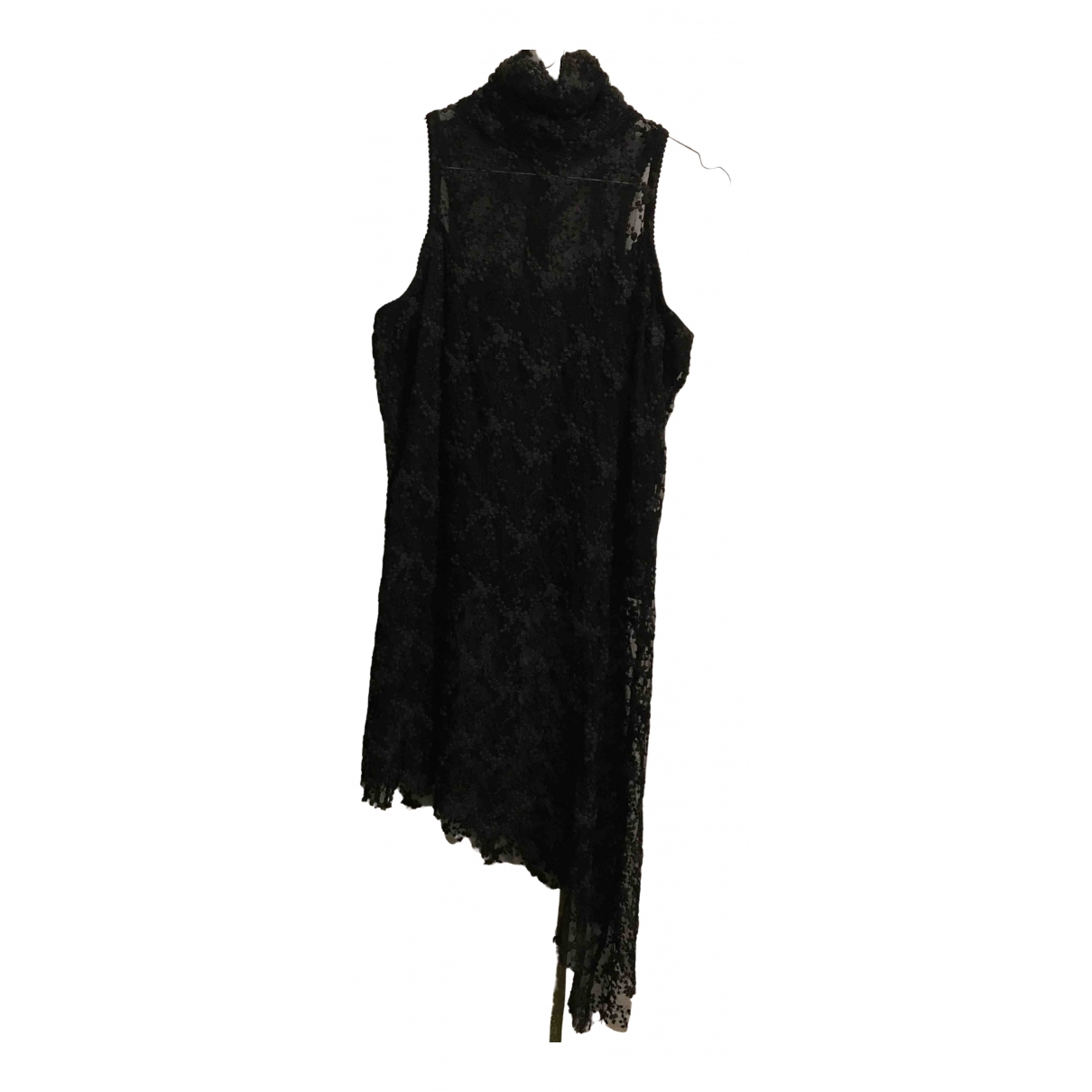 Non Signé / Unsigned \N Black Lace  top for Women 44 FR