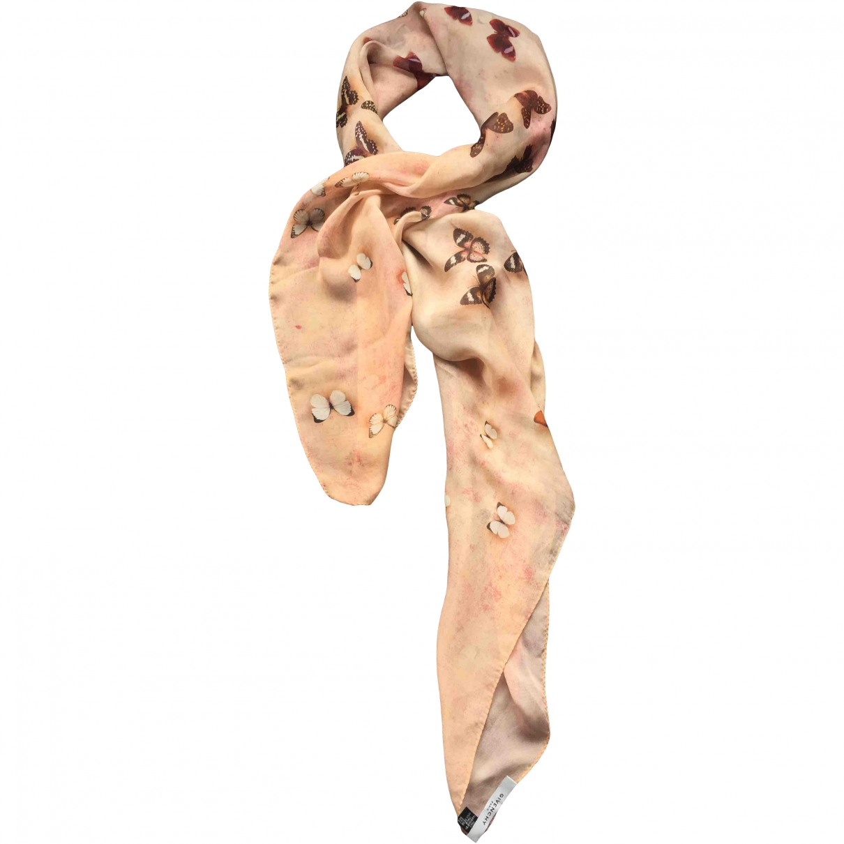 Givenchy \N Pink Silk scarf for Women \N