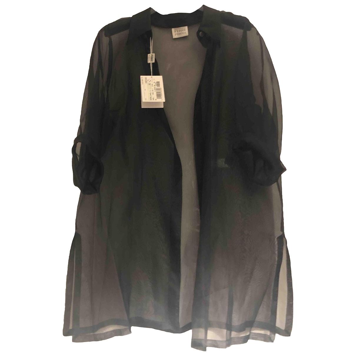 Gianfranco Ferre - Veste   pour femme en soie - noir