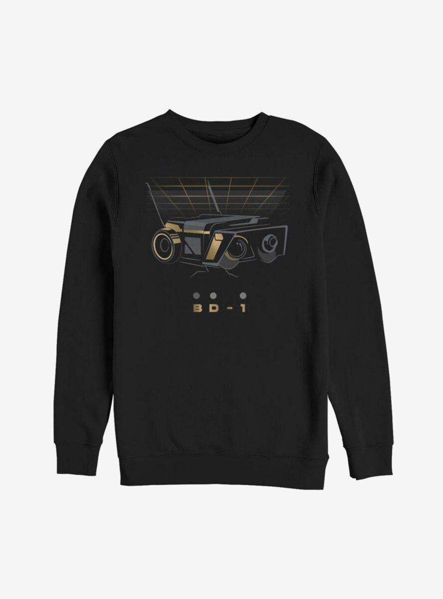 Star Wars Jedi Fallen Order BD-1 Gold Sweatshirt