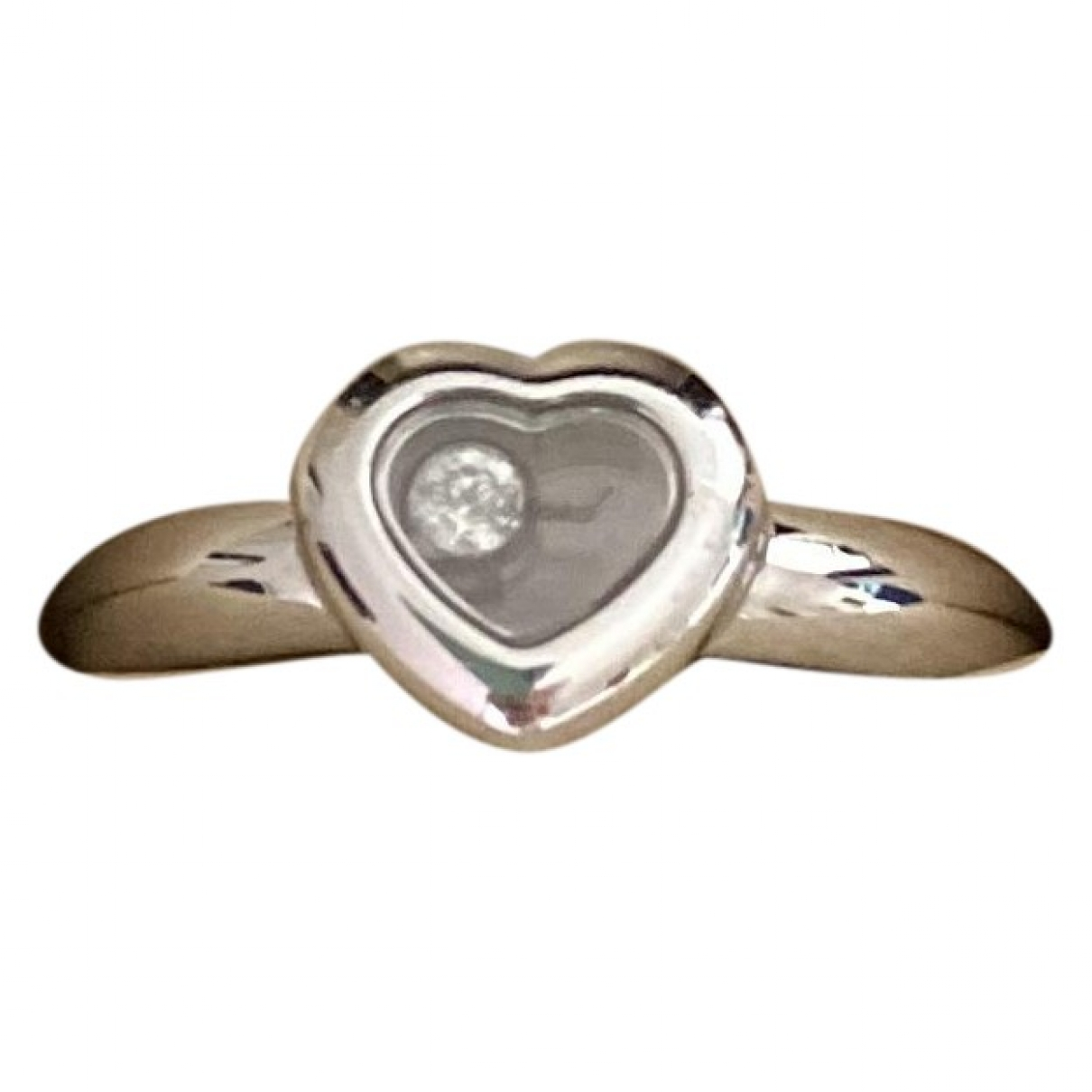 Chopard Happy Diamonds Silver White gold ring for Women 3 US