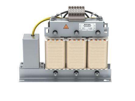 EPCOS , B84143V*R/S229 4A 300 / 520 V ac 50/60Hz, Wall Mount Power Line Filter, Terminal Block 3 Phase