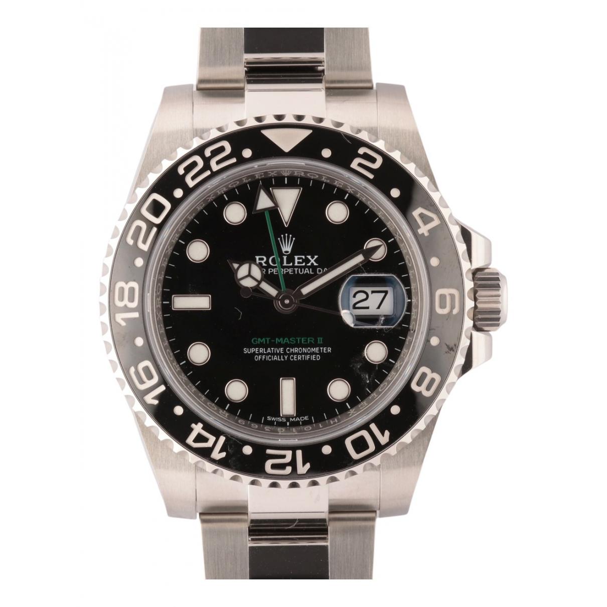 Rolex GMT-Master II Uhr in  Silber Stahl