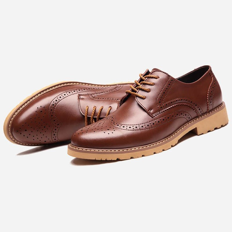 Ericdress New Lace up Men's Brogues