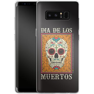 Samsung Galaxy Note 8 Silikon Handyhuelle - Dia De Los Muertos von Smiley®