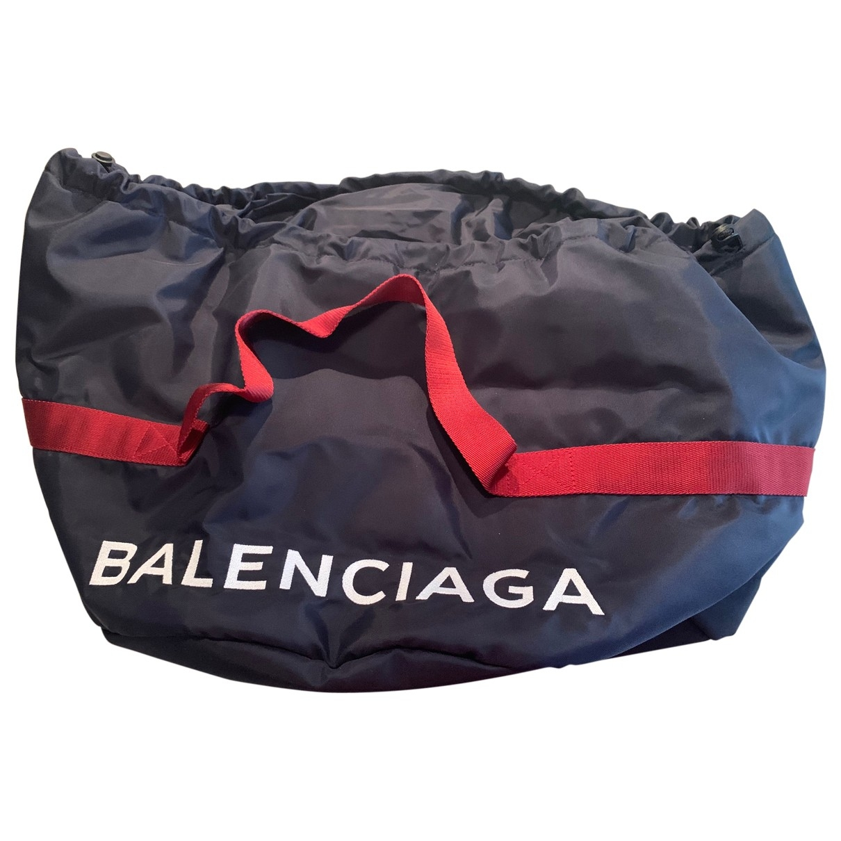 Balenciaga \N Blue Cloth Travel bag for Women \N