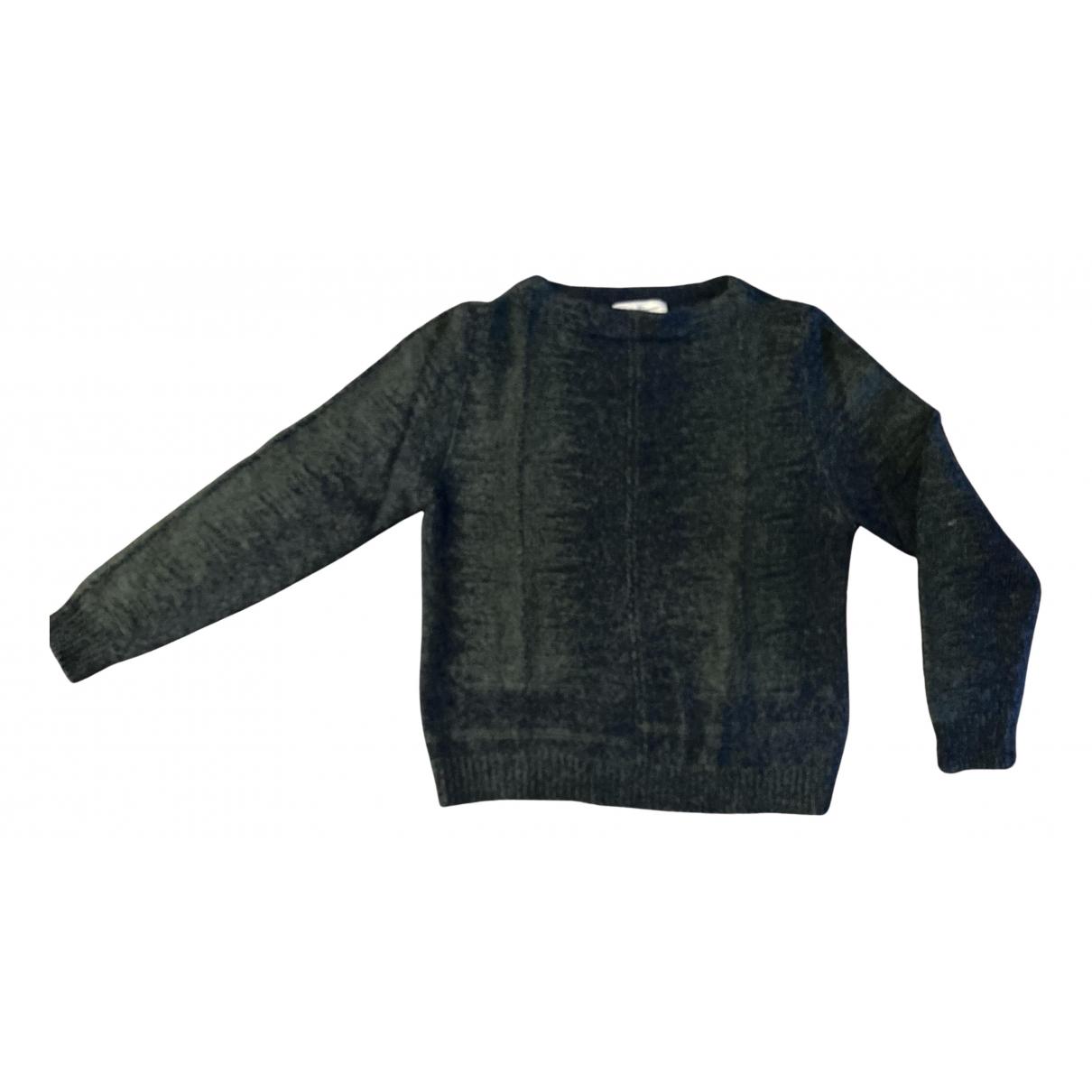 Salvatore Ferragamo \N Pullover.Westen.Sweatshirts  in  Gruen Baumwolle