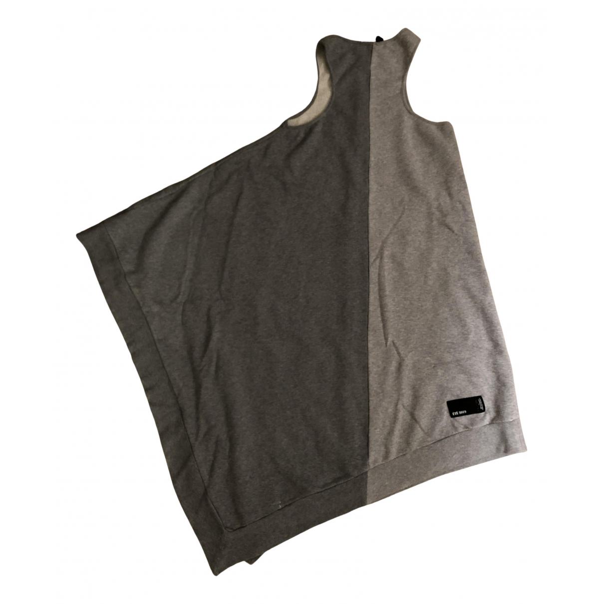 Unravel Project \N Kleid in  Grau Baumwolle