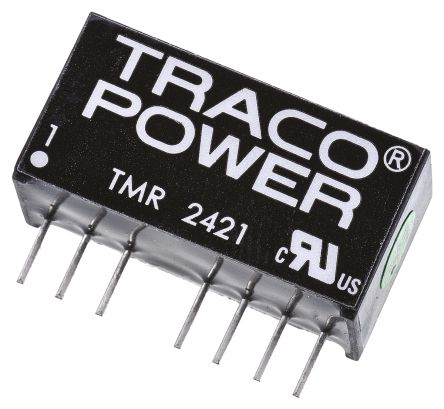 TRACOPOWER TMR 2 2W Isolated DC-DC Converter Through Hole, Voltage in 18 → 36 V dc, Voltage out ±5V dc