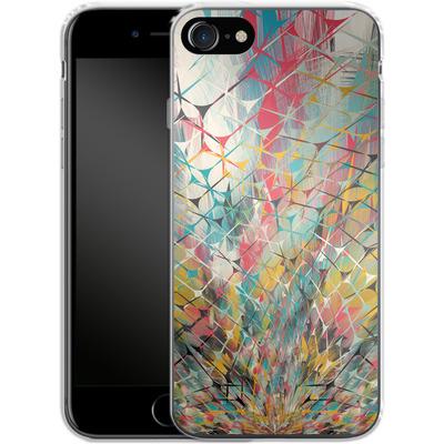 Apple iPhone 7 Silikon Handyhuelle - Spider Explosion von Danny Ivan