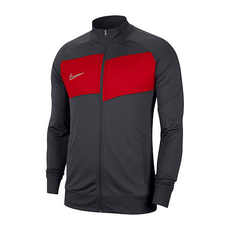 Nike Knit Lightweight Track Jacket, Medium , Gray