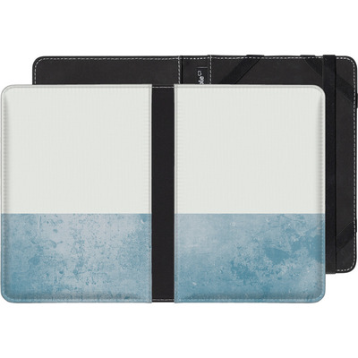 Amazon Kindle Paperwhite eBook Reader Huelle - Colour Block Blue von caseable Designs