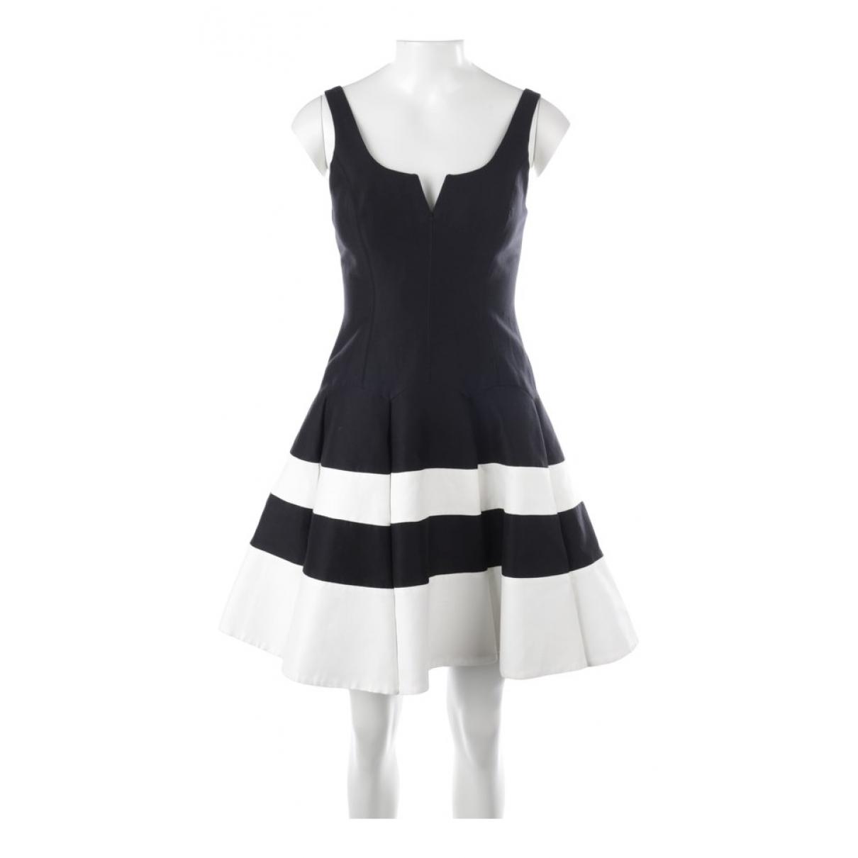 Halston Heritage - Robe   pour femme en coton - noir