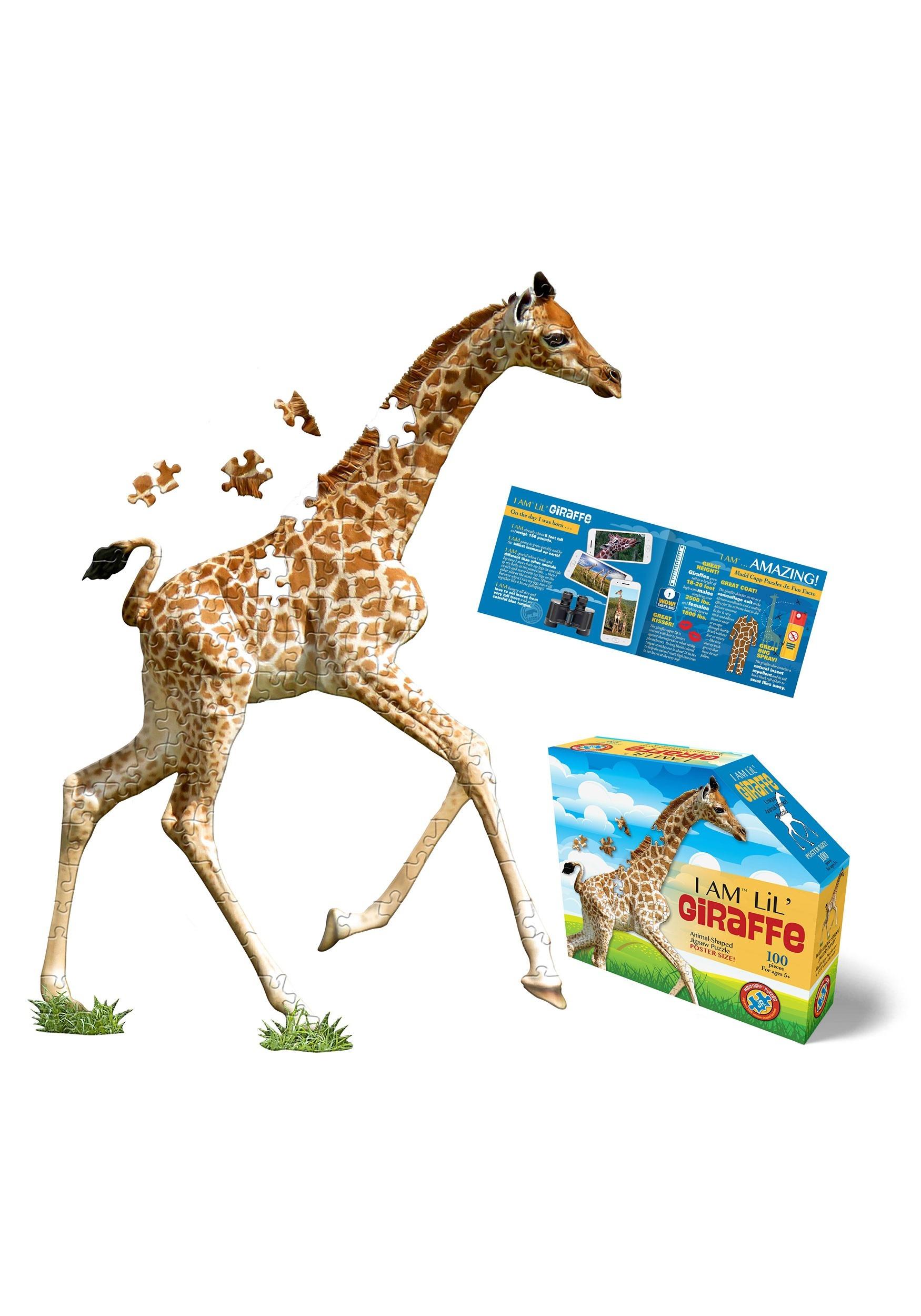 I am Lil' Giraffe 100 Piece Madd Capp Puzzle