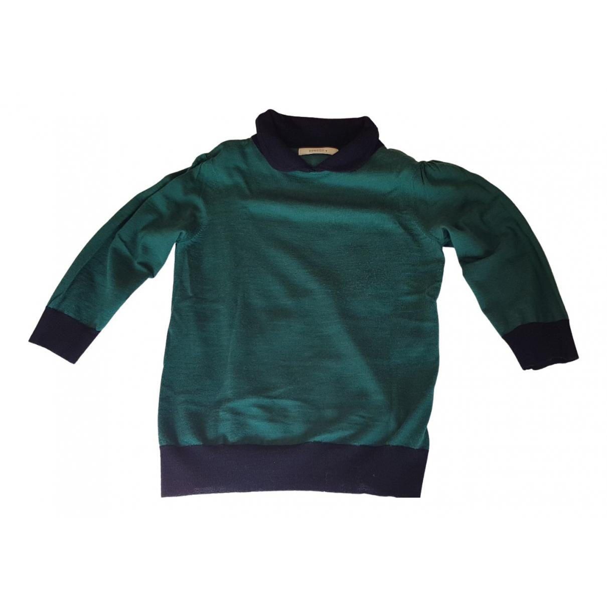 Sessun - Pull   pour femme en laine - multicolore