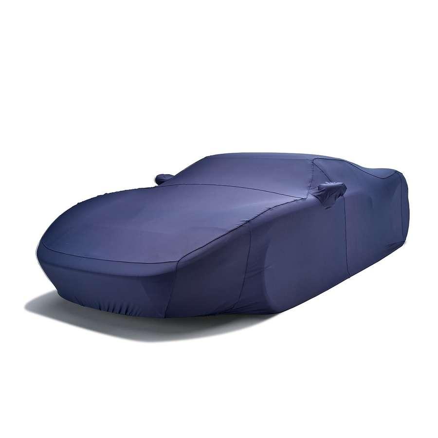 Covercraft FF17046FD Form-Fit Custom Car Cover Metallic Dark Blue Audi
