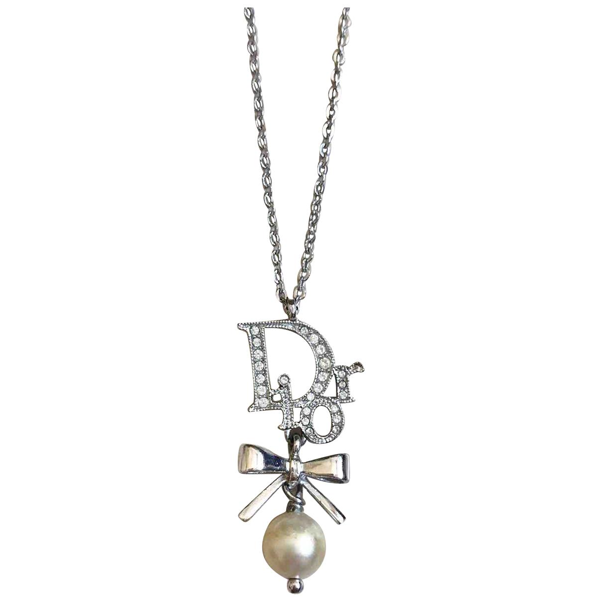 Dior \N Kette in  Silber Metall