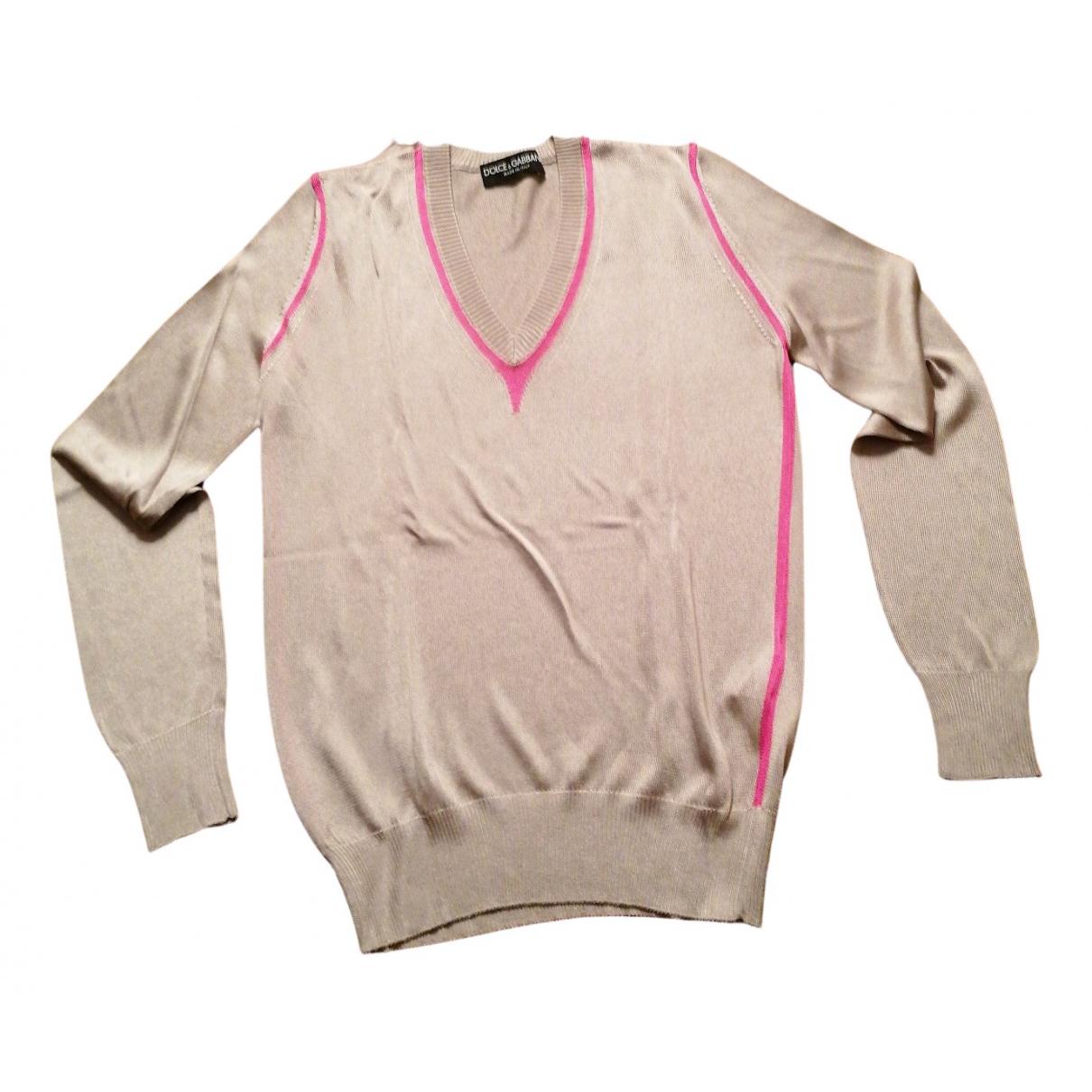 Dolce & Gabbana - Pull   pour femme - beige