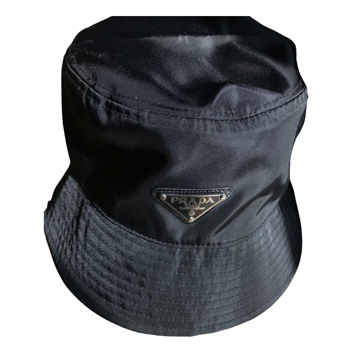 Prada \N Black Cloth hat for Women L International