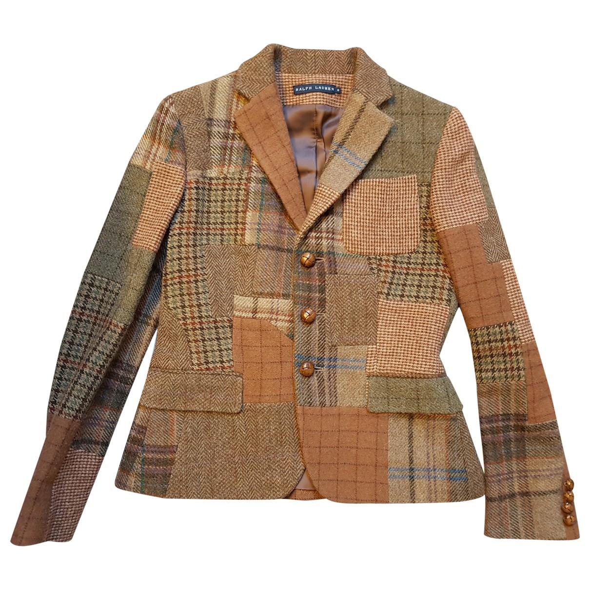 Ralph Lauren \N Multicolour Wool jacket for Women 8 US
