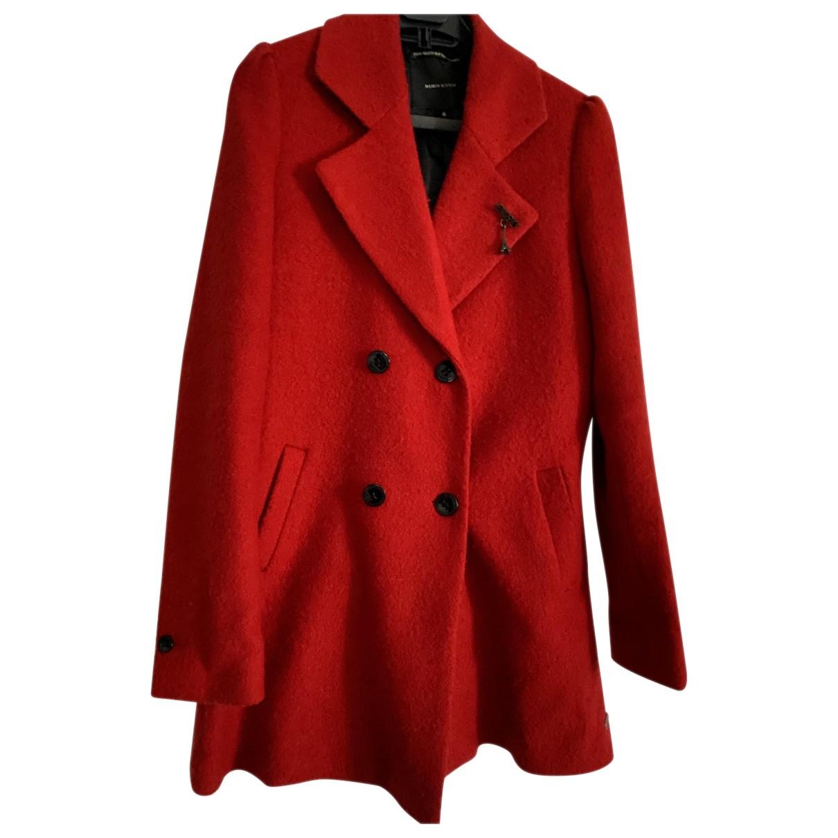 Scotch & Soda - Robe   pour femme en laine - rouge