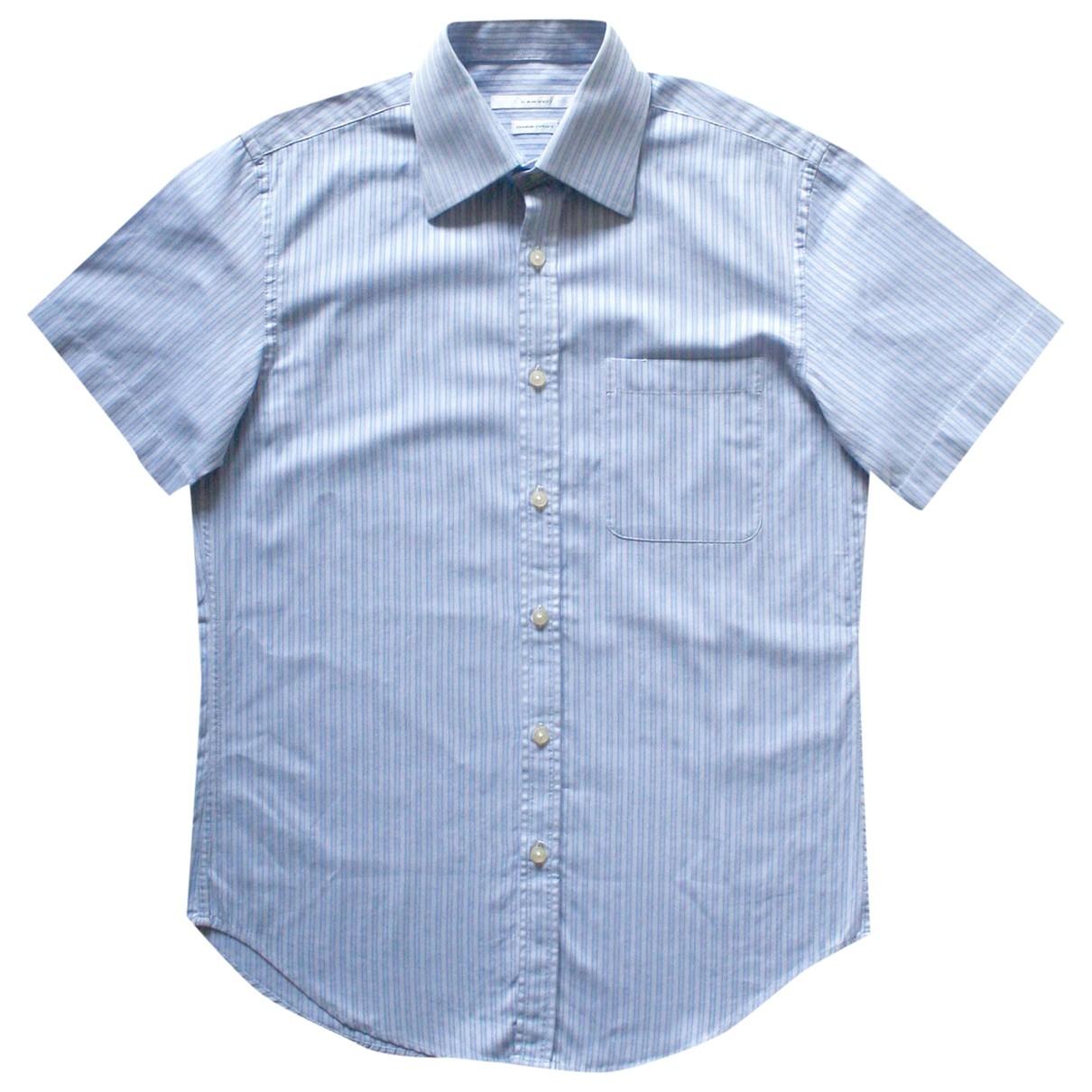 Carven \N Blue Cotton Shirts for Men M International