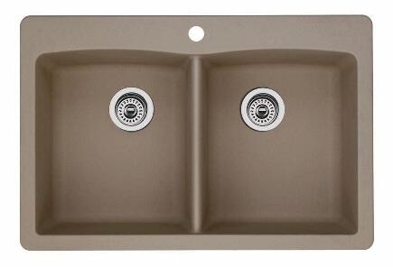 Diamond 441285 Equal Double Bowl Dual-Mount Sink  in