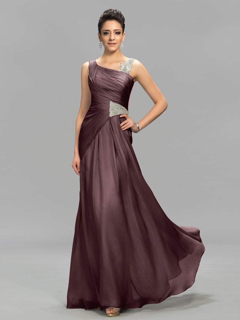 Ericdress Concise Straps Beading A-Line Evening Dress