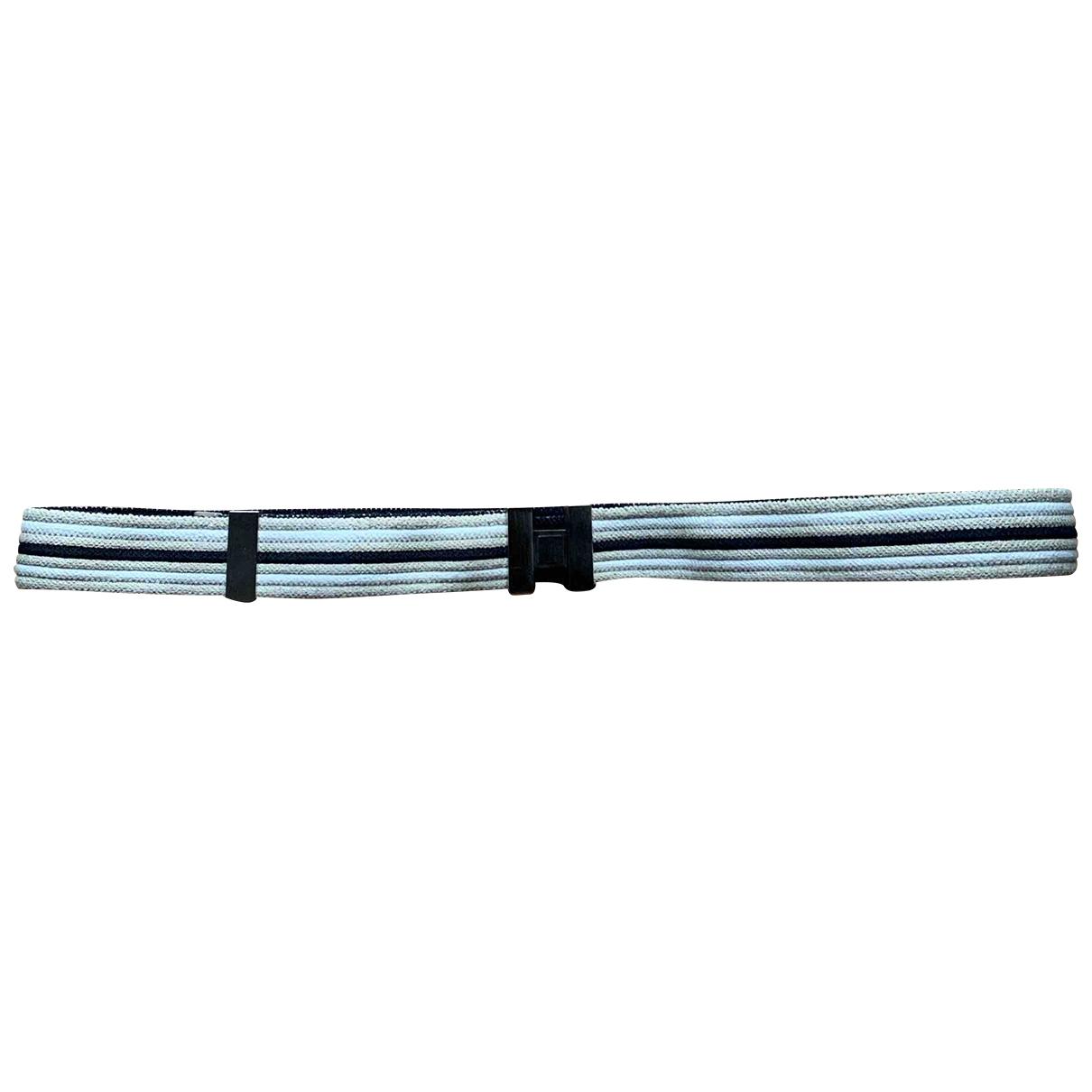 Hermès \N Beige Cloth belt for Men 90 cm